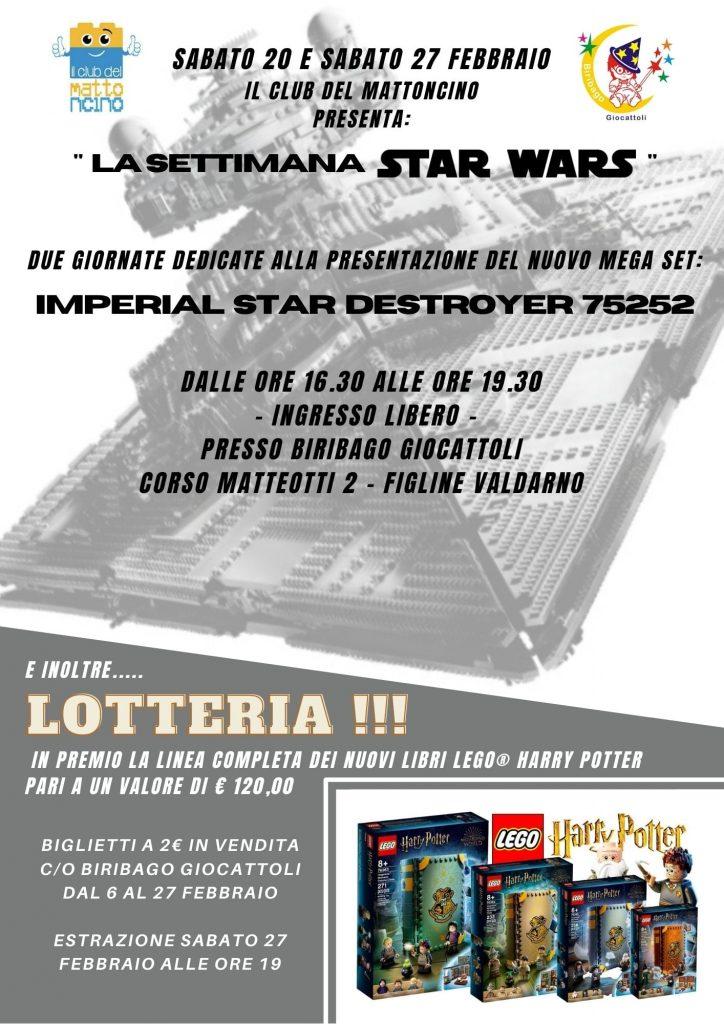SETTIMANA LEGO STAR WARS @ Biribago Giocattoli