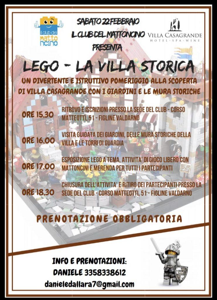ALLA SCOPERTA LEGO CITY FIGLINE - LA VILLA STORICA @ Club del Mattoncino