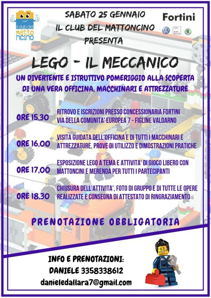 Lego City - Il Meccanico @ Concessionaria Fortini
